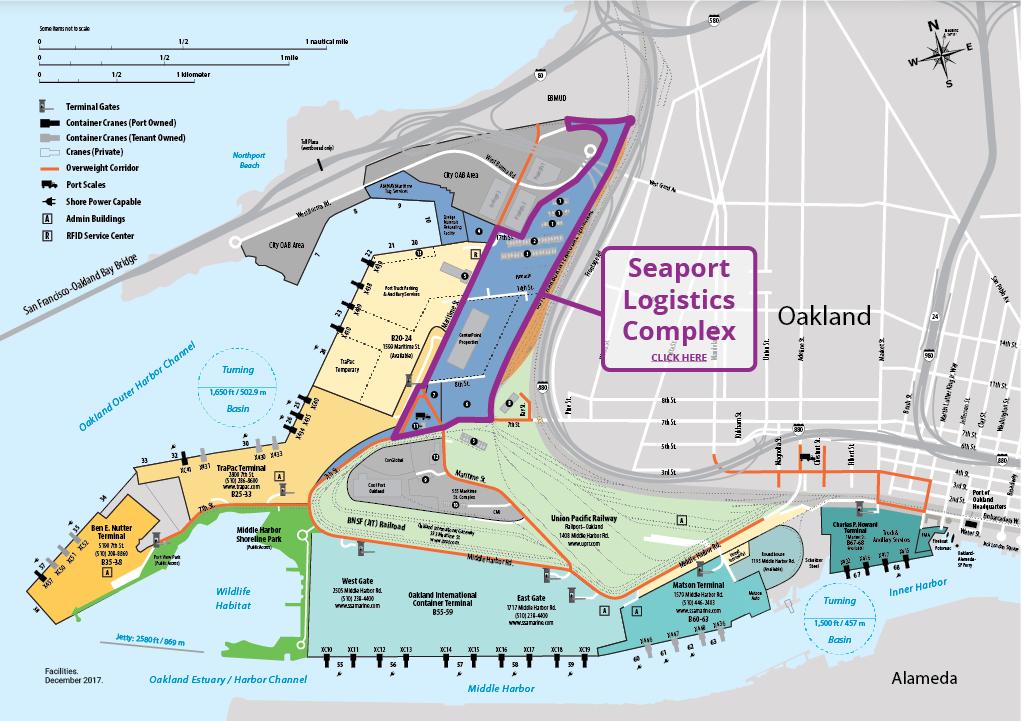 Seaport Logistics Complex Map