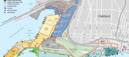 Seaport Facilities Map